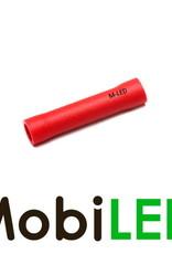 M-LED 10x M-LED PVC Cosse à sertir connecteur bout à bout isolé 0.5-1.5mm² rouge