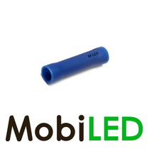 10x M-LED PVC Cosse à sertir rond femelle 1.5-2.5mm² bleu