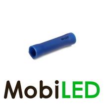 10x M-LED PVC Kabelschoen rond vrouw 1.5-2.5mm² blauw
