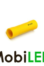 M-LED 10x M-LED PVC Kabelschoen rond vrouw 4-6mm² geel