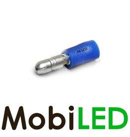 M-LED 10x Rond man half geïsoleerd 1.5-2.5mm² (4mm) blauw