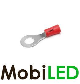 M-LED 10x Bague pré-isolés 0.5-1.5mm² (6,4mm) rouge