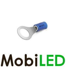 M-LED 10x Ring half geïsoleerd 1.5-2.5mm² (4,3mm) blauw