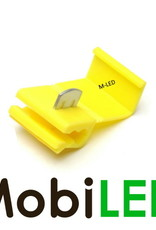 M-LED 10x M-LED PVC Kabelverbinder splitter 4-6mm² geel