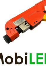 Outil à cliquet pour bornes tubulaires en cuivre (10 - 120mm²)