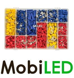 M-LED Kabelschoenen ruim assortiment, +/- 1000 stuks