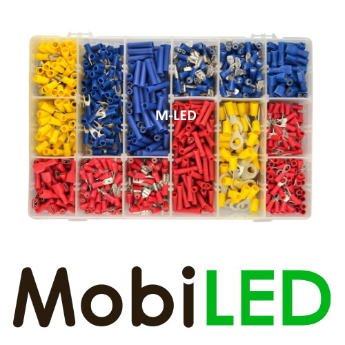 M-LED M-LED Kabelschoenen ruim assortiment, +/- 1000 stuks