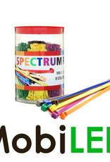 Serre-câbles 100 x 2.5 mm 8 couleurs, 800 pièces au total