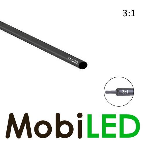 M-LED Tubes thermorétractable premium 3:1 avec couche adhésive  (9.5 → 3mm)