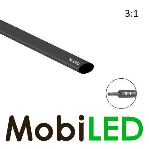 M-LED Tubes thermorétractable premium 3:1 avec couche adhésive  (12.7→ 4mm)