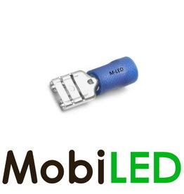 M-LED 100x Vrouw deels geïsoleerd 1.5-2.5mm² (6,3x0,8mm) blauw