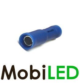M-LED 100x Rond vrouw half geïsoleerd 1.5-2.5mm² (4mm) blauw