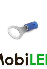 M-LED 100x M-LED PVC Cosse à sertir bague pré-isolé 1.5-2.5mm² (4,3 mm) bleu