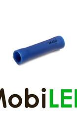 M-LED 100x M-LED PVC Kabelschoen rond vrouw 1.5-2.5mm² blauw