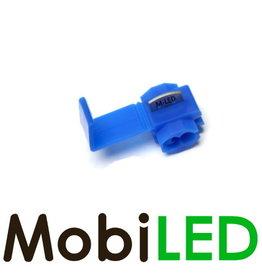 M-LED 100x Kabelverbinder splitter 0.75-2.5mm² blauw