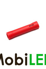 M-LED 100x M-LED PVC Kabelschoen stootverbinder geïsoleerd  0.5-1.5mm² rood
