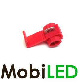 M-LED 100x Kabelverbinder splitter 0.5-1.0mm² rood