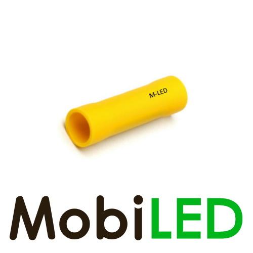 M-LED 100x M-LED PVC Kabelschoen rond vrouw 4-6mm² geel
