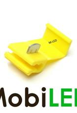 M-LED 100x M-LED PVC Kabelverbinder splitter 4-6mm² geel