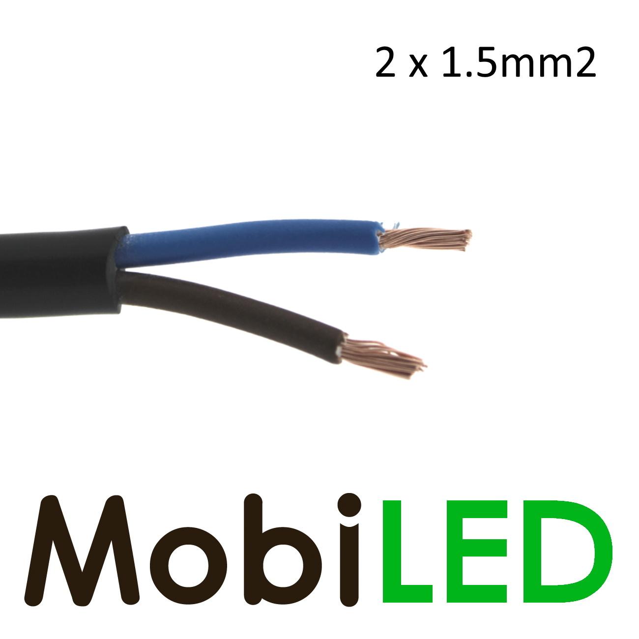 Câble de connexion 2 fils 2 x 1.5mm2
