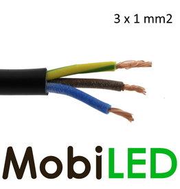 Câble de connexion 3 fils 3 x 1 mm2