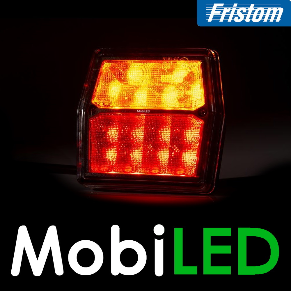 Fristom Compact achterlicht 12 volt  3 functies  Fristom  FT-222 Bajonet 5-pins