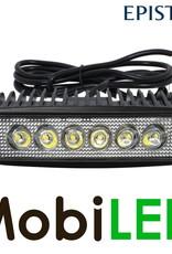 M-LED Werklamp 18 watt mini led bar breedstraler lange kabel