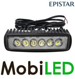 M-LED Lampe de travail 18w mini projecteur à barre LED long câble