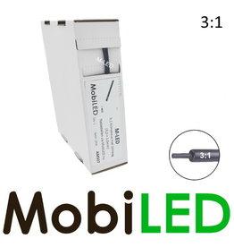 M-LED Tubes thermorétractables 3: 1 avec adhésif rouleau 10m (3,2 → 1 mm)