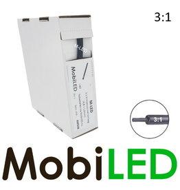 M-LED 3:1 Krimpkous rol 5m met lijmlaag (4.8 → 1.6mm)