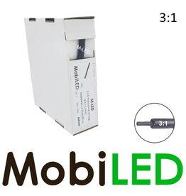 M-LED Tubes thermorétractables 3: 1 avec adhésif rouleau 5m (6.4 → 2.1 mm)