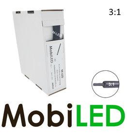 M-LED Tubes thermorétractables 3: 1 avec adhésif rouleau 5m (9.5 →3.2mm)