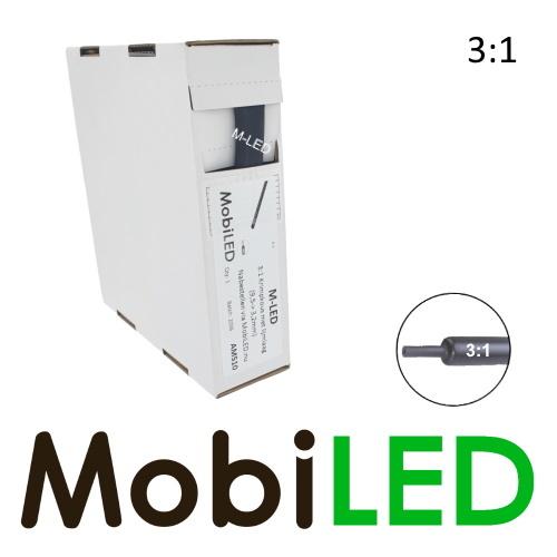 M-LED 5 metre Tubes thermorétractable premium 3:1 avec couche adhésive (9.5 →3.2mm)