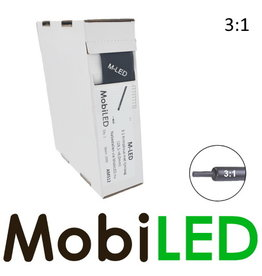 M-LED 3:1 Krimpkous rol 4m met lijmlaag (19.1→6.0mm)