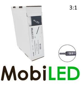 M-LED Tubes thermorétractables 3: 1 avec adhésif rouleau 4m (19.1→6.0mm)