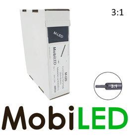 M-LED Tubes thermorétractables 3: 1 avec adhésif rouleau 3m (25.4→8.4mm)