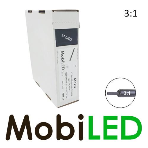 M-LED 3 metre Tubes thermorétractable premium 3:1 avec couche adhésive (25.4→8.4mm)