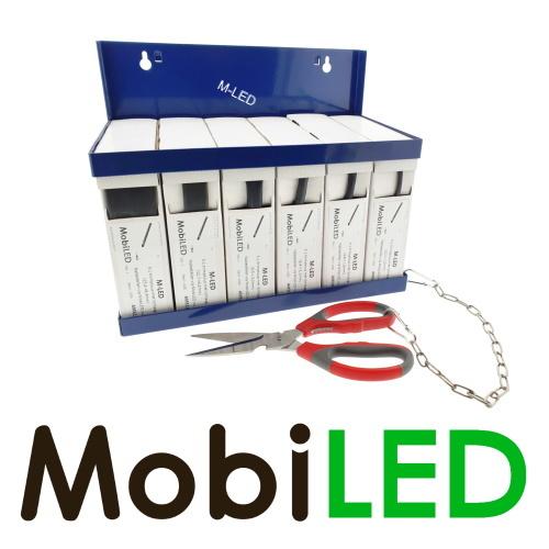 M-LED Distributeur de tubes thermorétractables avec ciseaux