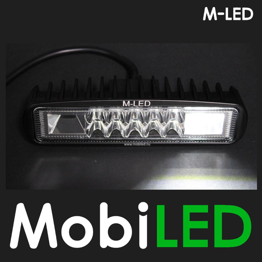 M-LED Werklamp met witte flitser