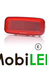 """WAS LED zijmarkering """"NEON"""" rand  rood - E-Keur"""