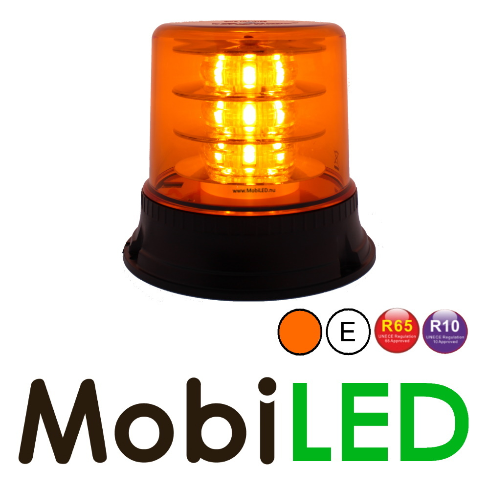 Zwaailamp 18 LED amber