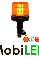 Zwaailamp 18 LED opsteek amber