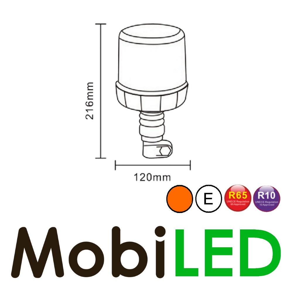 Beacon 18 LED plug ambre