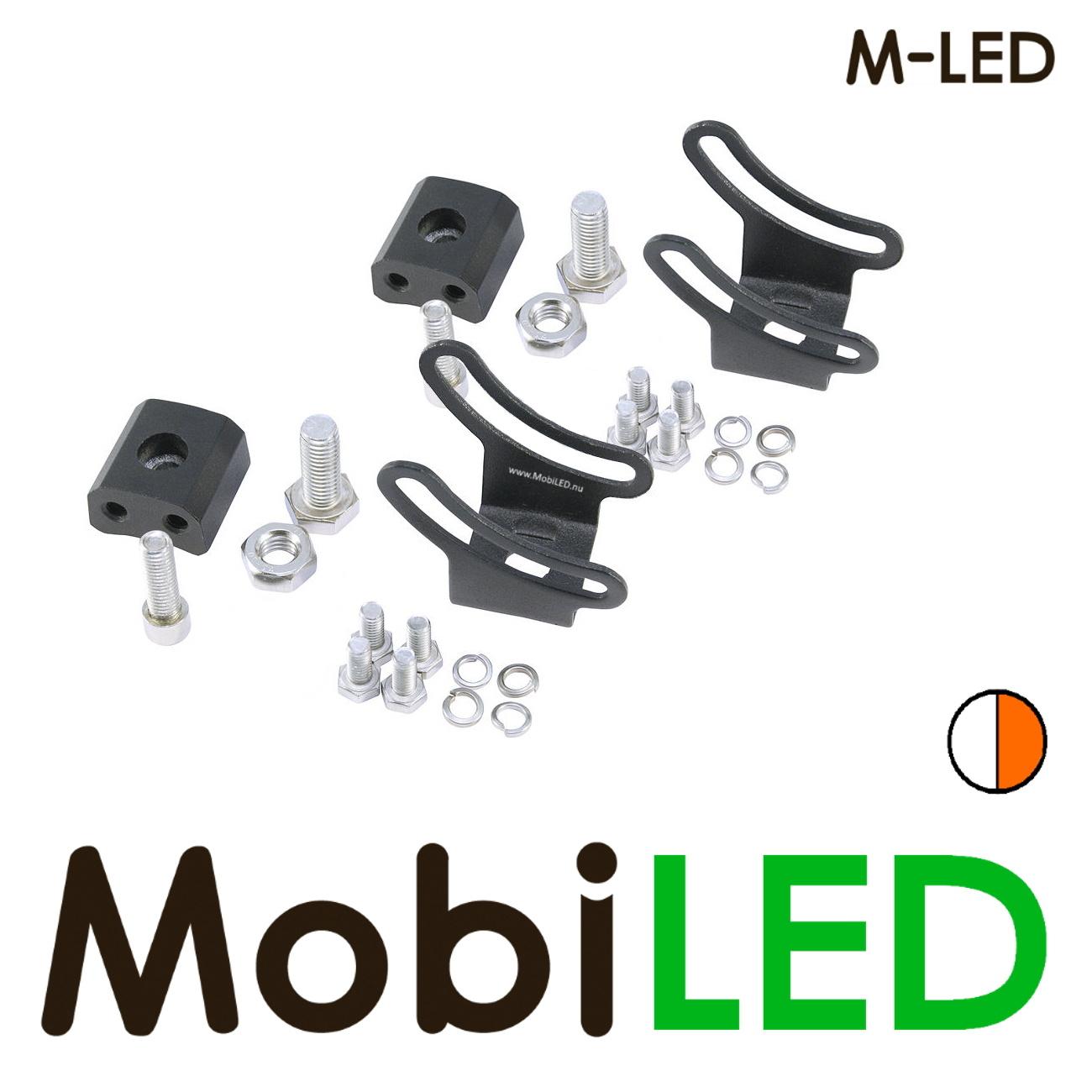 M-LED LED bar 126W Combo beam  met amber flitser
