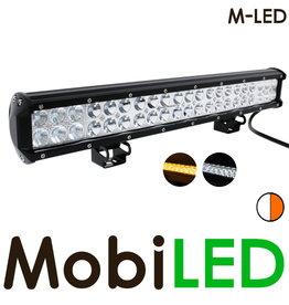 M-LED LED bar 126W  met amber flitser
