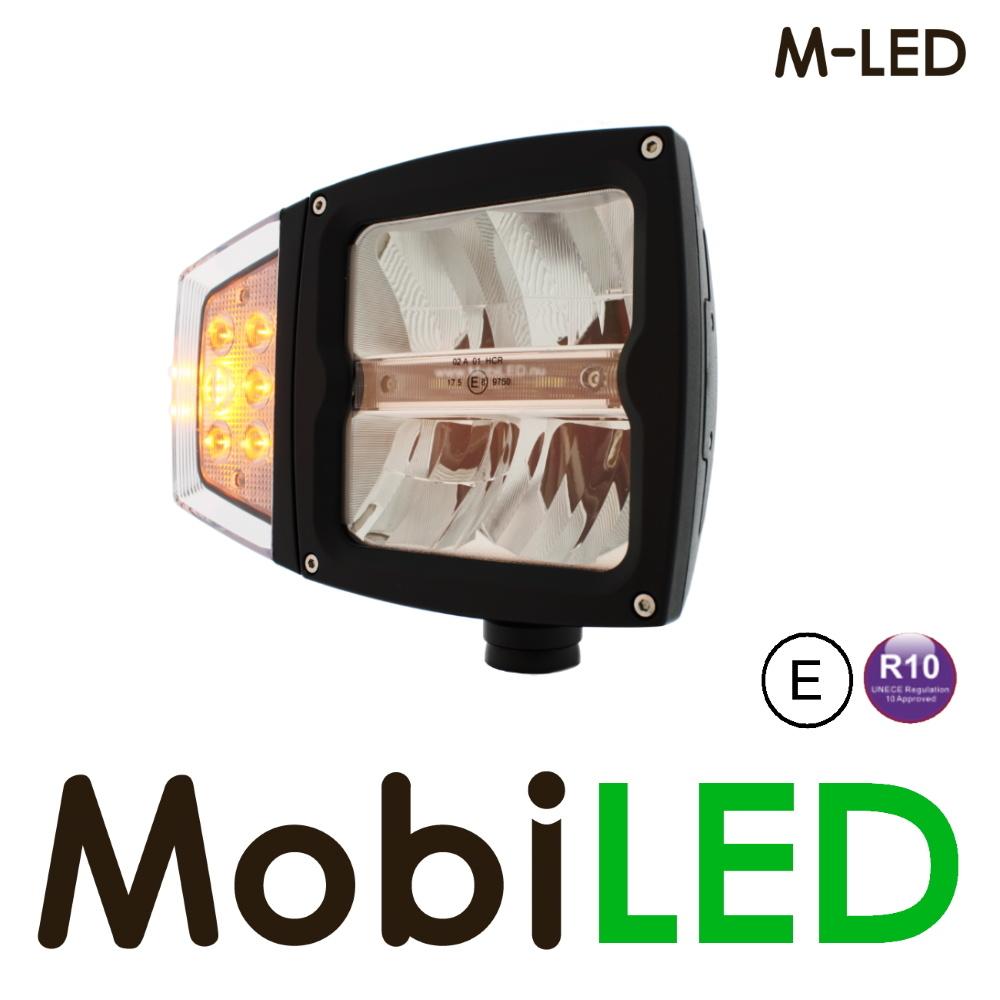 M-LED Heavy duty koplamp verwarmd