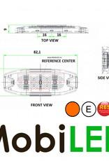 Ultra Mince LED Flash avec 3 LEDs  R10/R65 E mark