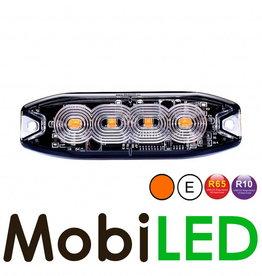 Ultra Slim LED flitser 4 leds R10/R65 E-Keur