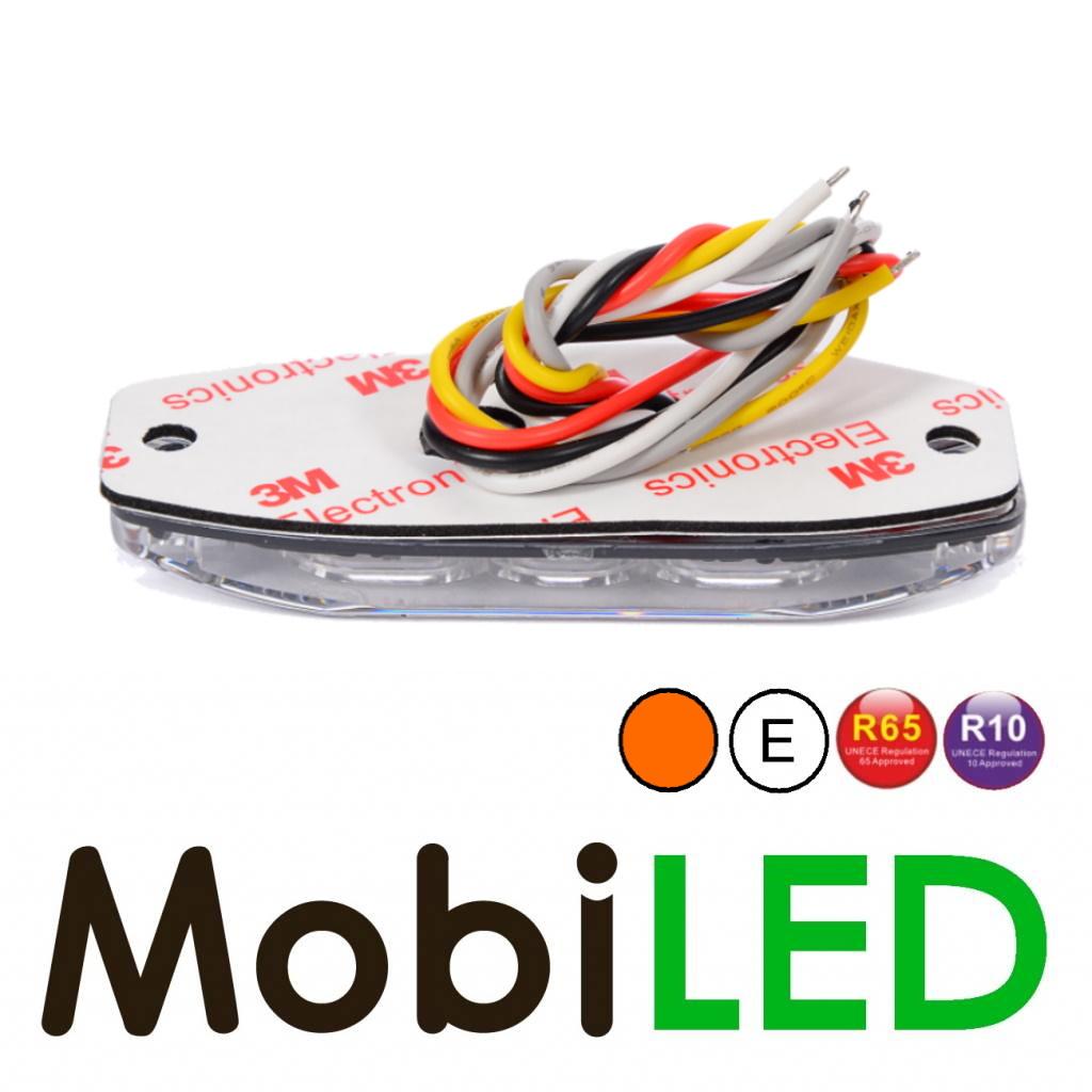 Ultra Mince LED Flash avec 4 LEDs  R10/R65 E-mark