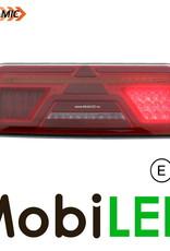 Feu arrière + suspension 5 fonctions dynamique droite avec réflecteur